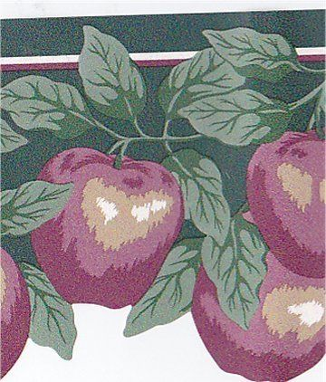 LASER Cut APPLES Kitchen Fruit Wallpaper Border SALE