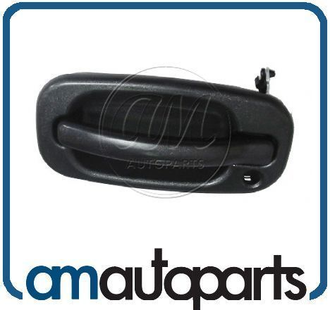 Chevy GMC Truck Front Black Outer Outside Exterior Door Handle Driver